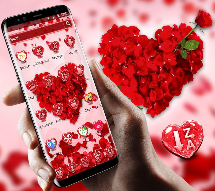 Red Heart Love Theme for Android - APK Download