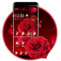 Red Rose Flowers Theme