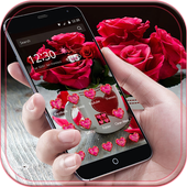 Theme Rose Love Red icon