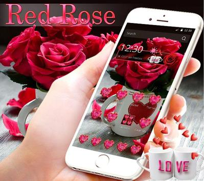 Theme Rose Love Red poster