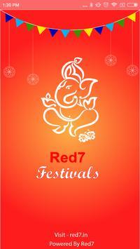 Red7 Festivals poster