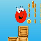 Red Ball Run Jump Game icon