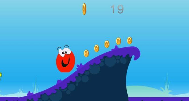 Red Ball Run Jump Game apk screenshot