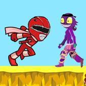 Red Ranger Adventure War icon