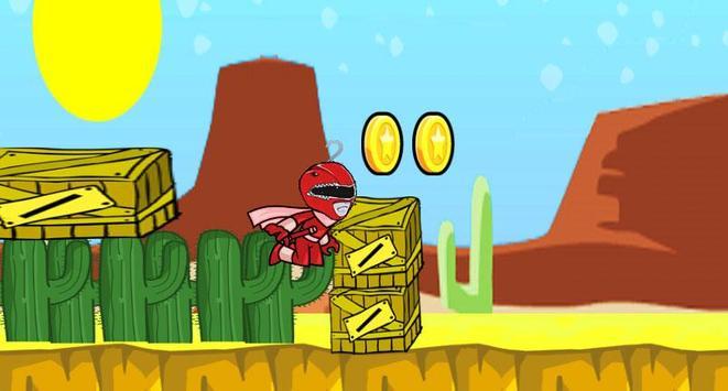 Red Ranger Adventure War apk screenshot