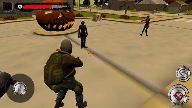 Halloween Town - Dead Target Zombie Shooting screenshot 4