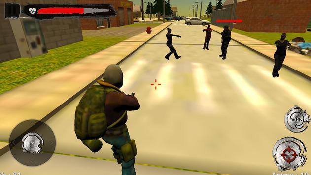 Halloween Town - Dead Target Zombie Shooting screenshot 7