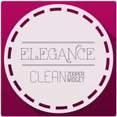 Elegance Clean for Zooper icon