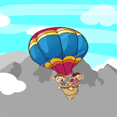 Ballon cracher icon