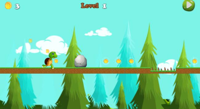 Super Turtle adventure RUN apk screenshot