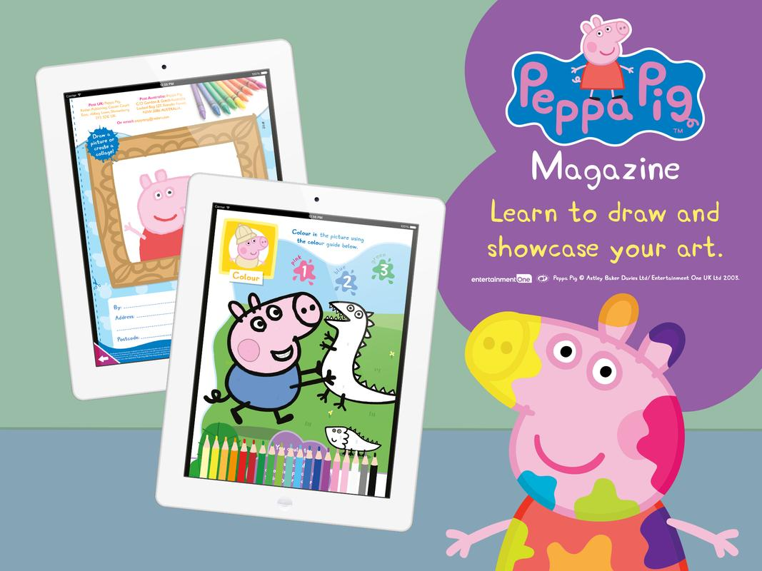 Peppa Pig Magazine APK Download - Free Education APP for Android ...