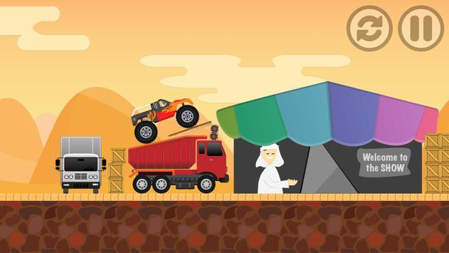DESERT Monster Truck Freestyle poster