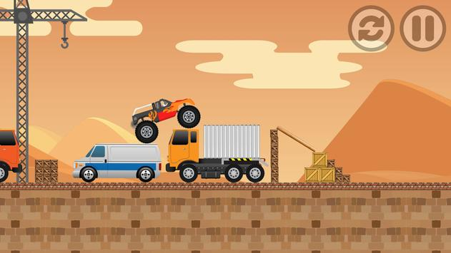 DESERT Monster Truck Freestyle apk screenshot