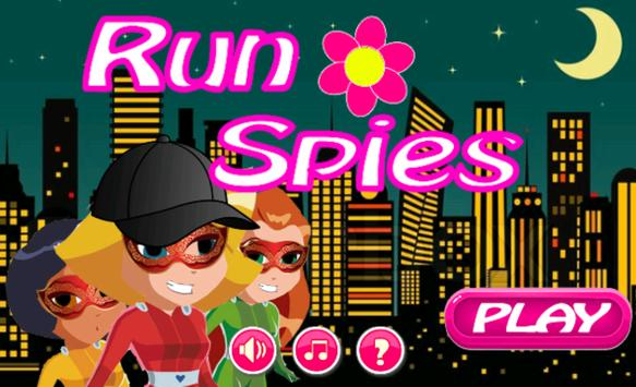 Totally run Spies poster