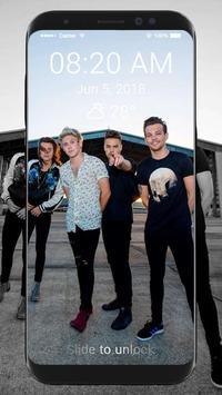 One Direction Wallpaper HD Lock Screen screenshot 6