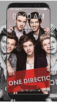 One Direction Wallpaper HD Lock Screen poster