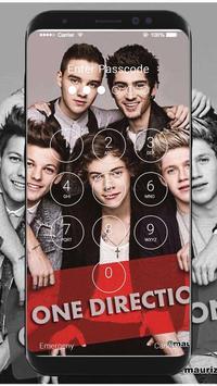 One Direction Wallpaper HD Lock Screen screenshot 1