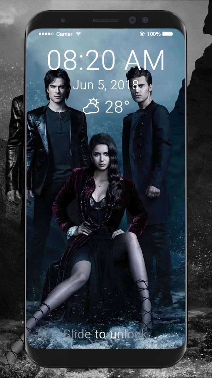 The Vampire Diaries Wallpaper Hd Lock Screen For Android