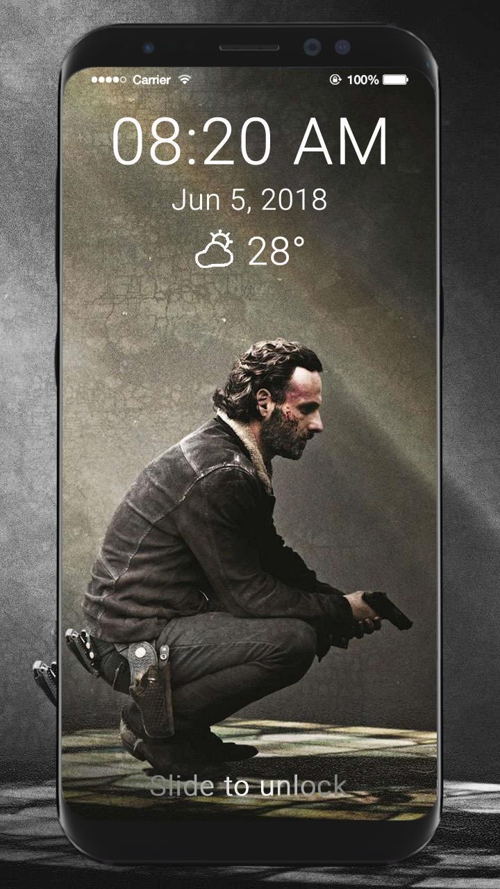 The Walking Dead Wallpaper Hd Lock Screen For Android Apk Download