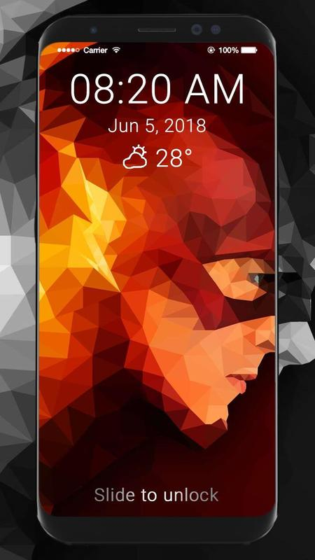 The Flash Wallpaper Hd Lock Screen For Android Apk Download
