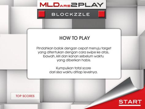 MLDARE2PLAY Blockzzle poster