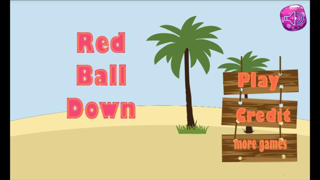 Red Ball Down poster