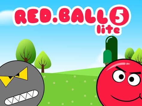 Red Ball 5 Lite poster