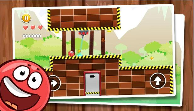 New Red Ball Adventure - Ball Bounce Game poster