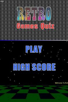 Retro Games Quiz poster