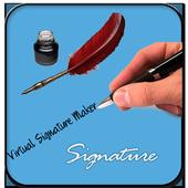 Virtual Signature Maker icon