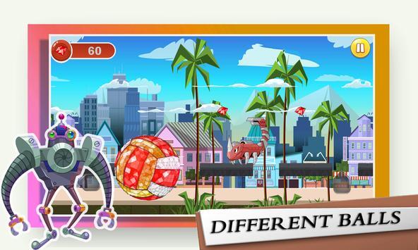 Huge Big Baller - Rock City Destruction screenshot 2