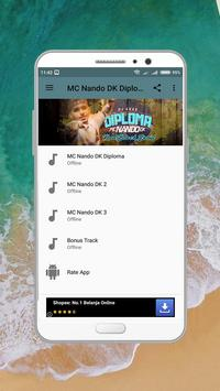 Musica Mc Nando DK Diploma screenshot 1