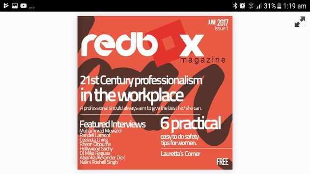 RedBox Magazine screenshot 1