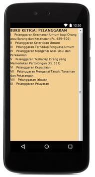 KUHPidana apk screenshot