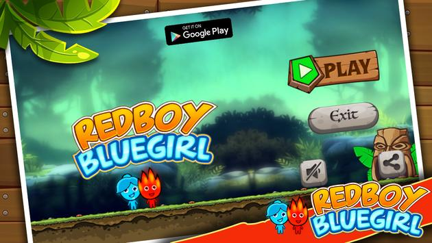 Redboy and Bluegirl Maze Adventure poster