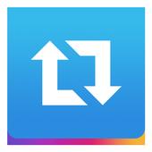 Repost icon