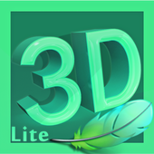 3D Text Photo Editor Lite-3D Logo Maker & 3D Name icon