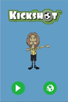 KickShot Board Game Mobile App poster