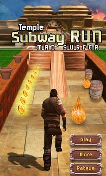 Temple Subway Run Mad Escape poster