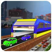 Elevated Bus Simulator 3d icon
