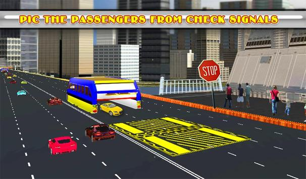 Elevated Bus Simulator 3d screenshot 14
