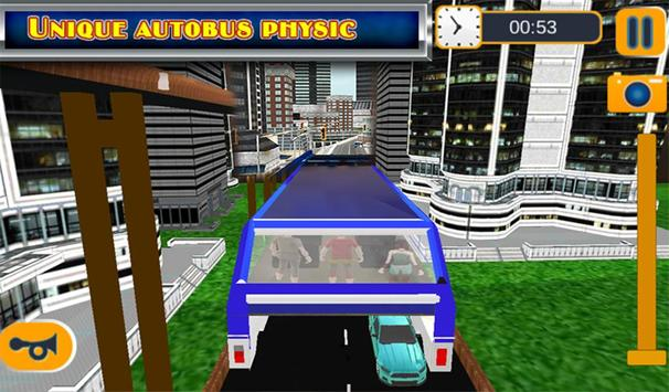 Elevated Bus Simulator 3d screenshot 16