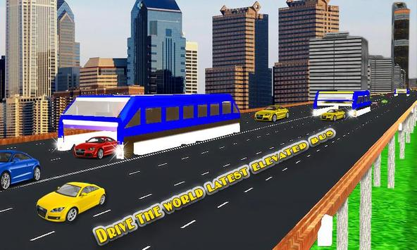 Elevated Bus Simulator 3d screenshot 1