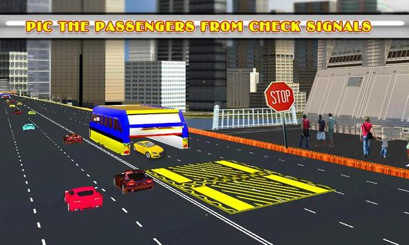 Elevated Bus Simulator 3d screenshot 2