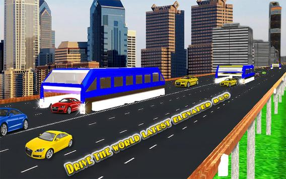 Elevated Bus Simulator 3d screenshot 7