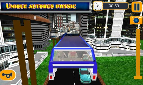 Elevated Bus Simulator 3d screenshot 4