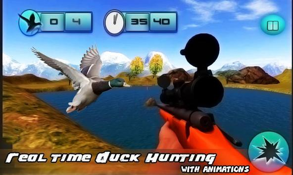 Duck Hunting Mad Sniper poster