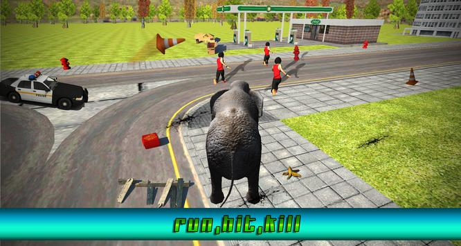 Angry Elephant Rampage Attack apk screenshot