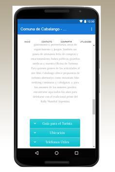 Comuna de Cabalango - RCI screenshot 1