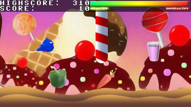 Flappy On-Diet Bird screenshot 1